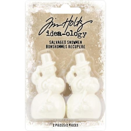 Tim Holtz Idea-Ology - Salvaged Snowmen - TH93774