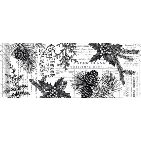 Tim Holtz Idea-Ology - Collage Paper Forest - TH93776
