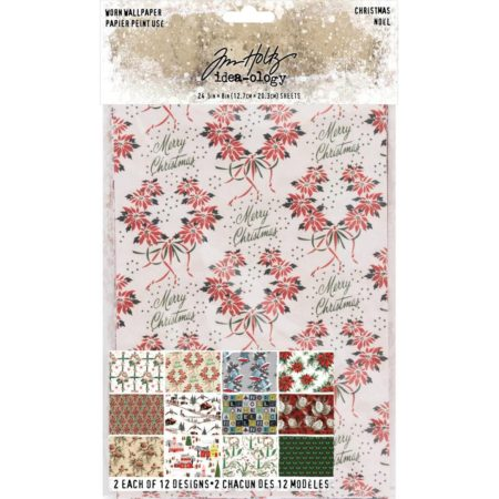 Tim Holtz Idea-Ology - Worn Wallpaper - TH93777