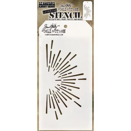 Tim Holtz - Layered Stencil - Burst - THS116
