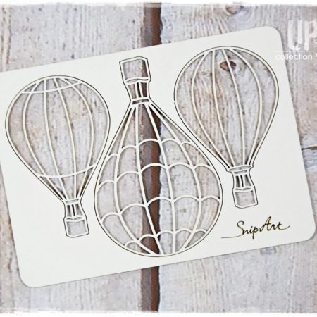 SnipArt - Chipbords - Up In The Air Balloon 1