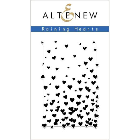 Altenew - Raining Hearts Stamp Set - ALT2701