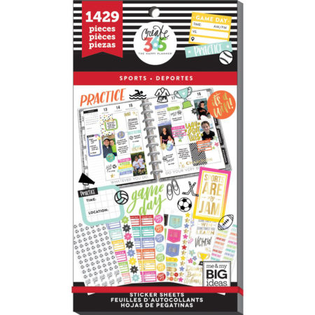 Happy Planner Sticker Value Pack - Sports - PPSV-55