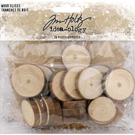 Tim Holtz Idea-Ology - Wood Slices - TH93745