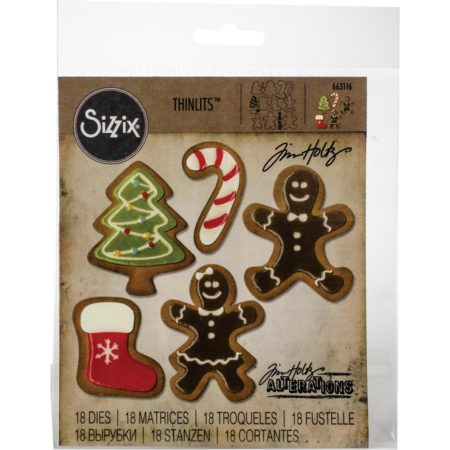 Sizzix Thinlits - Tim Holtz - Fresh Baked #2 - 663116