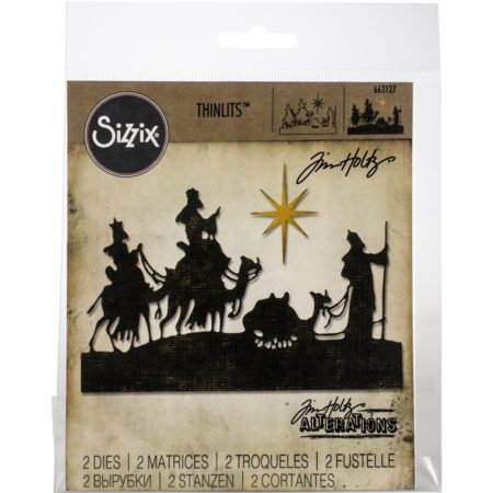 Sizzix Thinlits - Tim Holtz - Wise Men - 663127