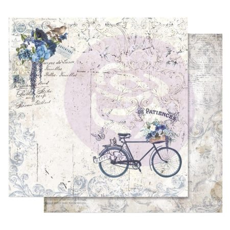 Prima - Georgia Blues Foiled Paper - Happy Days - 848903