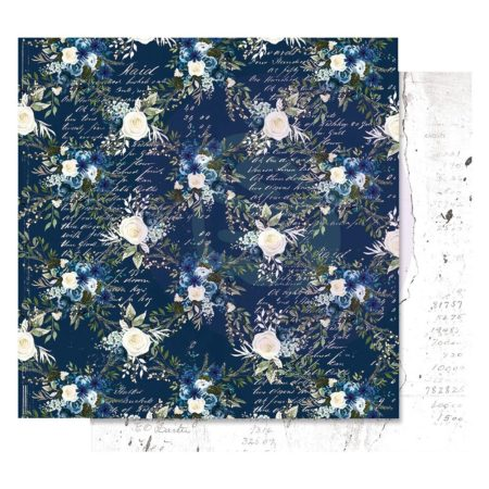 Prima - Georgia Blues Foiled Paper - Midnight Blues - 848973