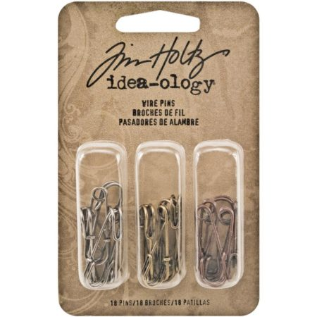 Tim Holtz Idea-Ology - Idea-Ology Metal Wire Pins - TH93011