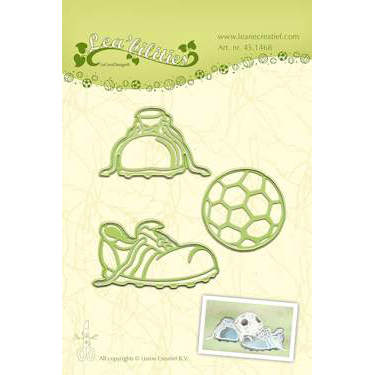 Leane - Die Cut & Embossing - Football - 45.1468