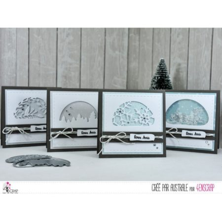4enscrap Dies - Winter Transparencies 3 - 4en-462