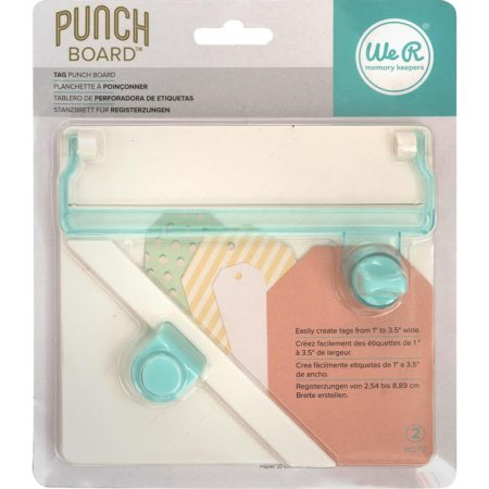 We R Memory Keepers - Tag Punch Board - 660248
