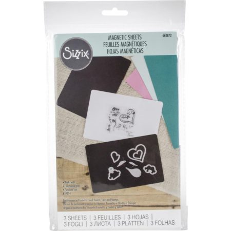 """Sizzix - Magnetic Sheets 6""""X8"""" - 662872"""