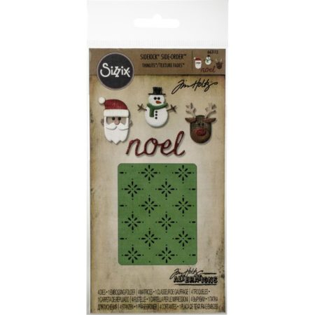 Sizzix - SIDE-Order - Tim Holtz - Christmas - 663112