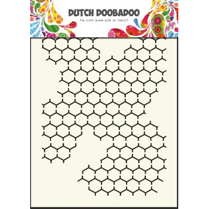 Dutch Doobadoo Mask Stencil Chicken Wire - 470.715.001