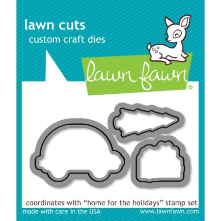 Lawn Fawn Dies - Home For The Holidays - LF1221