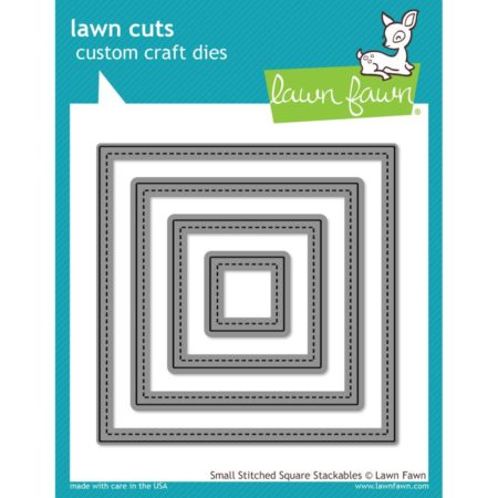 Lawn Fawn Dies - Small Stitched Squares - LF836