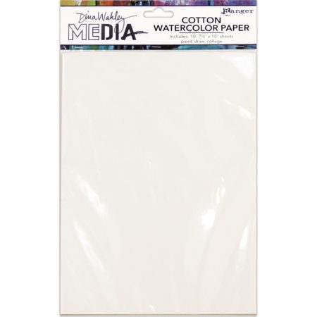 Ranger - Dina Wakley Media Cotton Watercolor Paper - MDJ59646
