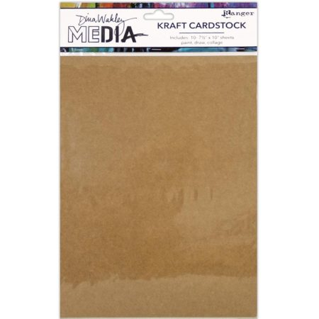Ranger - Dina Wakley Media Kraft Paper Pack - MDJ59653