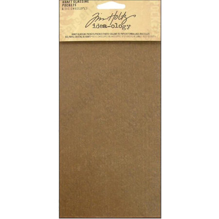 Tim Holtz Idea-Ology - Tag Glassine Pocket Envelopes - TH92924