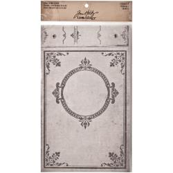 "Tim Holtz Idea-Ology Worn Cover 6.5""X9"" Chronicle - TH93134"
