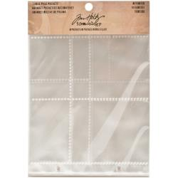 Tim Holtz Idea-Ology 2-Hole Page Pockets Landscape TH93140