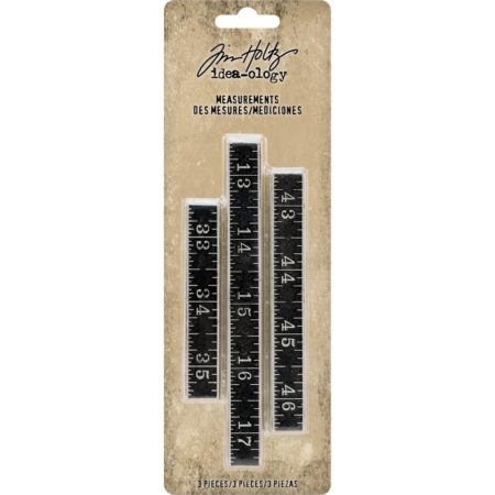 Tim Holtz Idea-Ology - Metal Ruler Measurements - TH93682