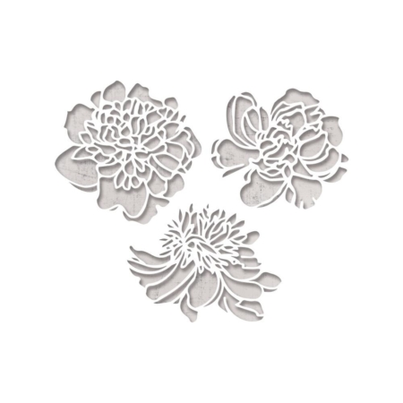 Sizzix Thinlits - Tim Holtz - Cutout Blossoms - 664161