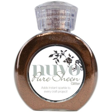 Nuvo pure sheen Glitter - Chokolate Brown - 715N