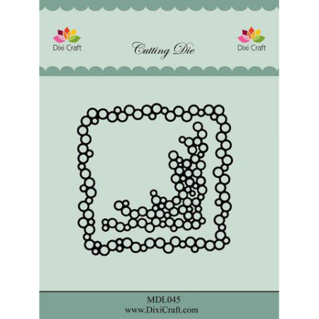 Dixi Craft Dies - Bubble Frame - MDL045