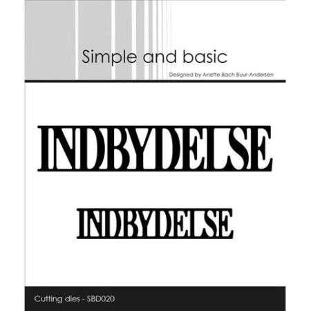 Simple and Basic Dies - Indbydelse - SBD020