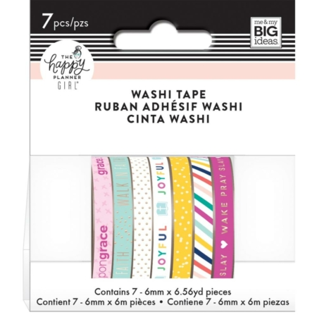 Happy Planner Washi Tapes Faith Warrior - WTB-32