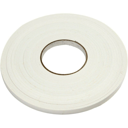 3D tape - B: 12 mm - tykkelse 2 mm - 15m