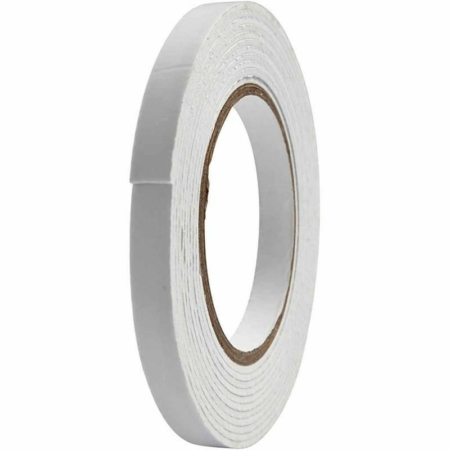3D tape - B 12 mm - tykkelse 2 mm - 5 m