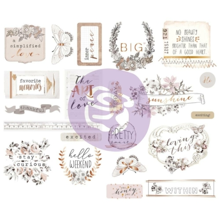 Prima Marketing Pretty Pale - Icons W/Foil Accents - 631901
