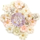 Prima Marketing - Poetic Rose Paper Flowers Elaborate Love