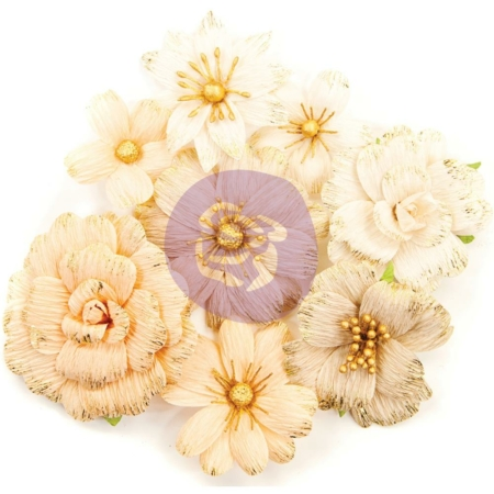 Prima Marketing - Pretty Pale - Paper Flowers Honeycomb