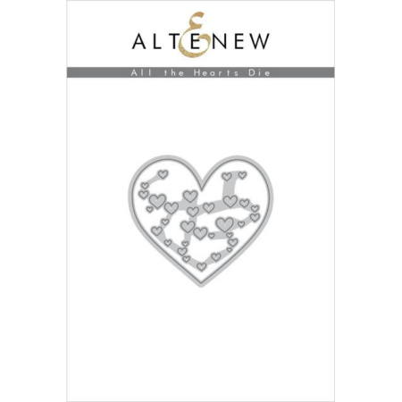 Altenew Die - All the Hearts - ALT2906