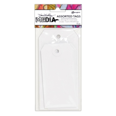 Ranger - Dina Wakley Media White Tags - MDA64802