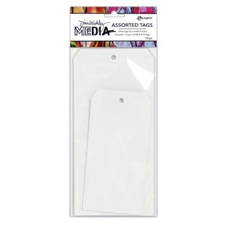 Ranger - Dina Wakley Media White Tags - MDA64619