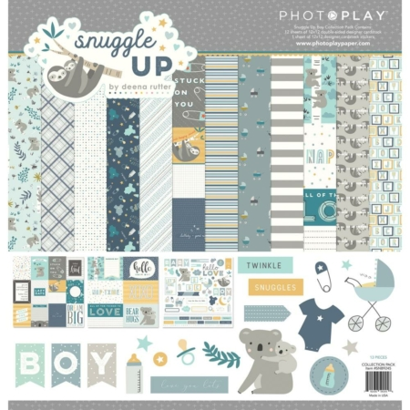 PhotoPlay Collection Pack - Snuggle Up Boy - SNB9245