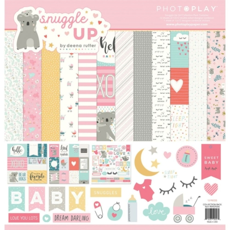 PhotoPlay Collection Pack - Snuggle Up Girl - SNG9256