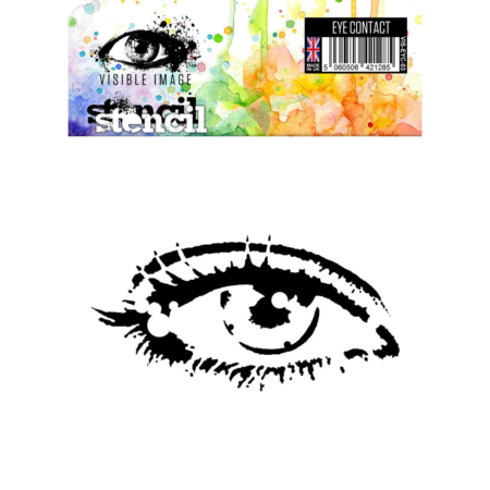 VISIBLE IMAGE Stencil - Eye Contact - VIS-EYC-03