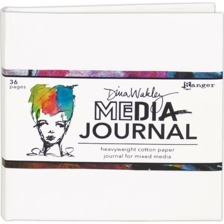 "Ranger - Dina Wakley Media White Journal 6""X6"" - MDJ61106"