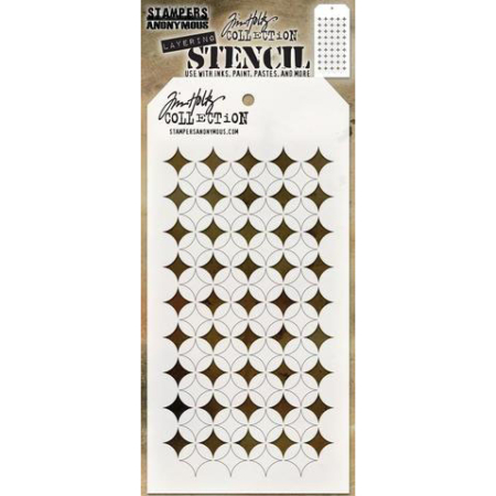 Tim Holtz - Layered Stencil - Shifter Burst - THS120
