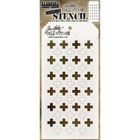 Tim Holtz - Layered Stencil - Shifter Plus - THS122