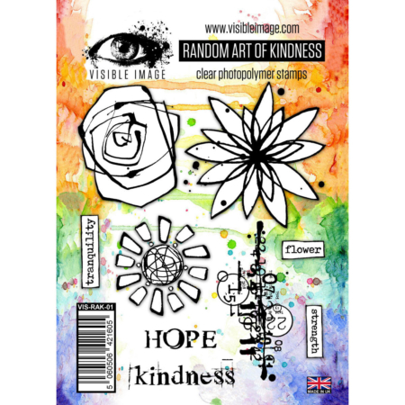 VISIBLE IMAGE STAMP - Random Art of Kindness - VIS-RAK-01