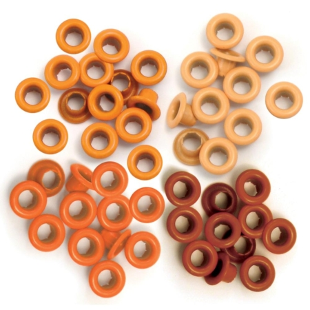 We R Memory Keepers - We R Eyelets Standard - Orange