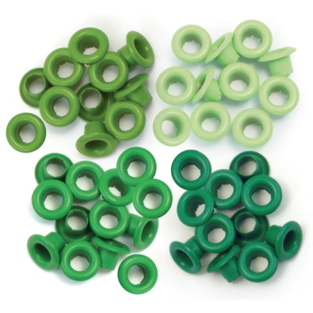 We R Memory Keepers - We R Eyelets Standard - Green
