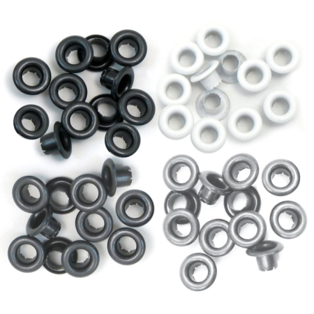 We R Memory Keepers - We R Eyelets Standard - Gray